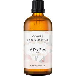 Apoem Hoito Skin Care for kids Candid Face & Body Oil 100 ml