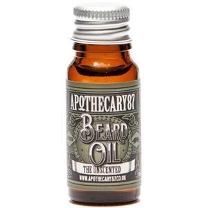 Apothecary87 Hoito Parranhoito The Unscented Beard Oil sis. pipetin 50 ml