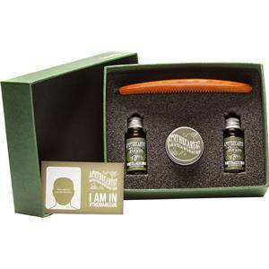 Apothecary87 Hoito Parranhoito TheManClub Lahjasetti Original Recipe Beard Oil 10 ml + Vanilla & MANgo Beard Oil 10 ml + Powerful, Firm Hold Moustache Wax 16 g + The Man Club Barber Comb 1 Stk.