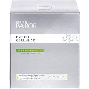 BABOR Kasvohoito Doctor  Purity Cellular Blemish Kit SOS De Blemish Cream 50 ml + De Blemish Powder 9 ml 1 Stk.