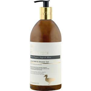 Baylis & Harding Vartalonhoito The Fuzzy Duck Black Pepper, Sage & Moss Luxury Bath & Shower Gel 750 ml