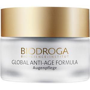 Biodroga Anti-Aging-hoito Global Anti-Age Formula Silmänhoito 50 ml