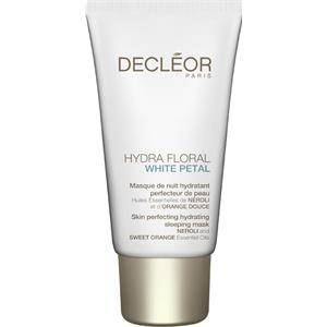 Decléor Kasvohoito Hydra Floral White Petal Masque de Nuit Hydratant 50 ml