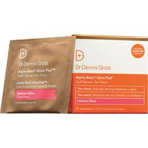 Dr Dennis Gross Skincare Hoito Glow + Tan Alpha Beta Glow Pad Intense Face 20 Stk.