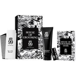 House 99 Miehille Parranhoito House Of Grooming Set Seriously Groomed Beard & Hair Balm 75 ml + Beard Oil 7 ml + Beard Comb 1 Stk.