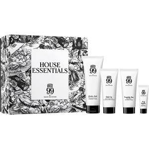 House 99 Miehille Kasvohoito House Essentials Set Greater Look Face Moisturizer 75 ml + Purefectly Clean Face Wash 40 ml + Polish Up Body & Hair Wash 40 ml + Truly Brighter Eye Balm 3 ml 1 Stk.