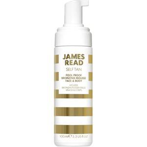 James Read Skin care Self-tanners Face & Body Fool-Proof Bronzing Mousse 200 ml