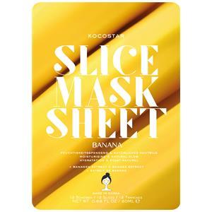 Kocostar Kasvohoito Naamiot Banana Slice Mask Sheet 20 ml