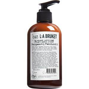 La Bruket Vartalonhoito Vartalovoiteet ja -voit Nr. 093 Body Lotion Bergamot/Patchouli 250 ml