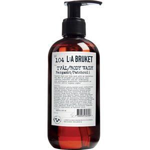 La Bruket Vartalonhoito Saippuat Nr. 104 Liquid Soap Bergamot/Patchouli 450 ml