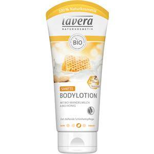 Lavera Body Spa -vartalonhoito Body Lotion und Milk Bio-mantelimaito & Bio-hunaja Hellävarainen vartalovoide 200 ml