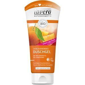 Lavera Body Spa -vartalonhoito Hoitavat suihkutuotteet Bio-Orange & Bio-tyrni Elävöittävä suihkugeeli 200 ml