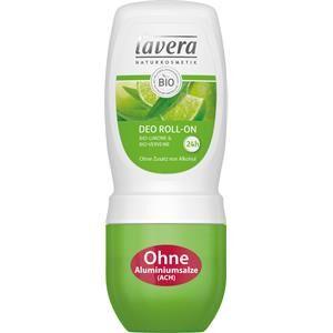 Lavera Body Spa -vartalonhoito Deodorantit Bio-sitruuna & Bio-Verveine Deodorant Roll-On 50 ml