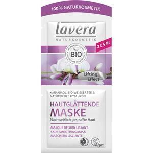 Lavera Faces-kasvohoito Naamiot Kanajaöljy, Bio-valkoinen tee & luonnollinen hyaluroni Ihoa siloittava naamio 2 x 5 ml