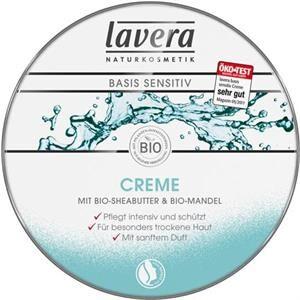 Lavera Basis Sensitiv Vartalonhoito Creme 150 ml
