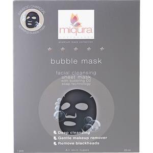 Miqura Hoito Premium Mask Collection Bubble Mask 5 Stk.