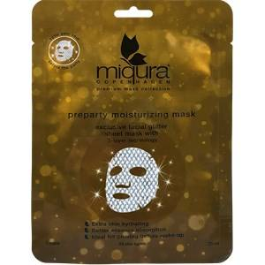 Miqura Hoito Premium Mask Collection Preparty Moisturizing Mask with Glitter 25 ml