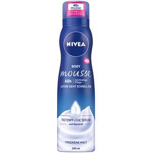 Nivea Vartalonhoito Body Lotion und Milk Body Mousse täyteläinen hoito 200 ml