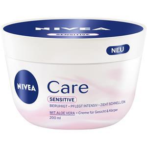 Nivea Vartalonhoito Käsivoide ja saippua Care Sensitive 200 ml