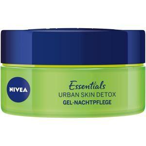 Nivea Kasvohoito Yövoide Essentials Urban Skin Detox Gel yöhoito 50 ml