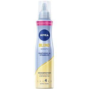 Nivea Hiustenhoito Styling Blond suojaava & hoitava muotovaahto 150 ml