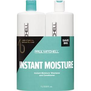 Paul Mitchell Hiustenhoito Moisture I am Hydrated Save On Duo Set Instant Moisture Daily Shampoo 1000 ml + Daily Treatment 1000 ml 1 Stk.