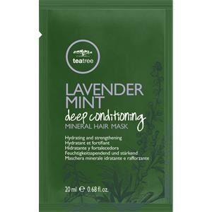 Paul Mitchell Hiustenhoito Tea Tree Lavender Mint Deep Conditioning Mineral Hair Mask 6 x 20 ml