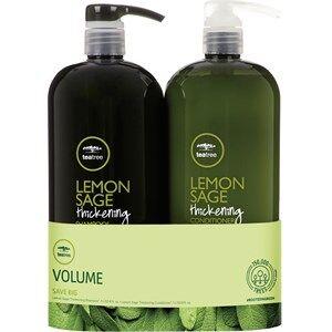 Paul Mitchell Hiustenhoito Tea Tree Lemon Sage Save Big On Duo Thickening Shampoo 1000 ml + Conditioner 1000 ml 1 Stk.