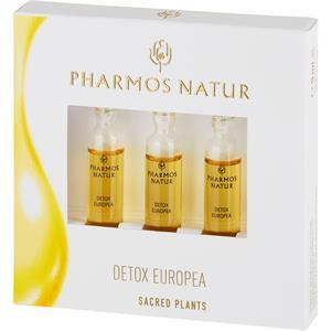 Pharmos Natur Kasvohoito Hoitoöljyt Detox Europea Ampullisetti 3 x 3 ml
