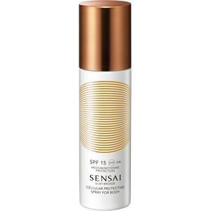SENSAI Aurinkovoiteet Silky Bronze Cellular Protective Spray For Body SPF 15 150 ml