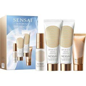 SENSAI Aurinkovoiteet Silky Bronze Gift set Cellular Protective Cream for Face SPF 50 50 ml + Cellular Protective Cream for Body SPF 30 50 ml + Soothing After Sun Repair Emulsion 20 ml + Self Tanning 20 ml 1 Stk.