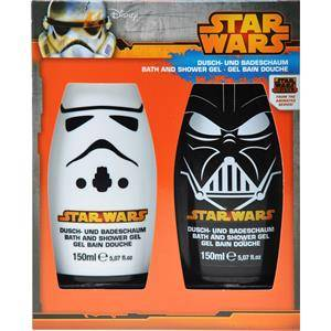 Star Wars Hoito Vartalonhoito Kylpysetti 2 x Bath & Shower Foam 150 ml 1 Stk.