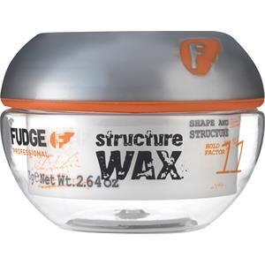 Fudge Hiusten muotoilu Styling & Finishing Structure Wax 75 g