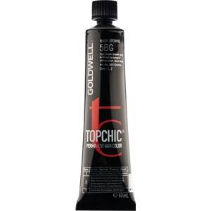 Goldwell Color Topchic The Browns Permanent Hair Color 6BM Mattaruskea vaalea 60 ml