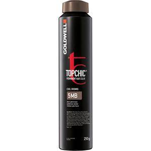 Goldwell Color Topchic The Browns Permanent Hair Color 6BM Mattaruskea vaalea 250 ml