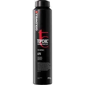 Goldwell Color Topchic The Naturals Permanent Hair Color 6NN Tummanvaalea ekstra 250 ml