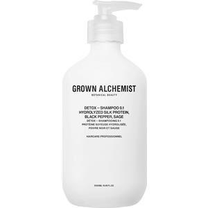 Grown Alchemist Hair care Shampoo Detox Shampoo 0.1 500 ml