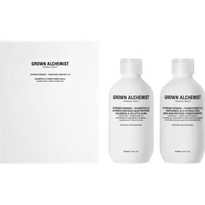Grown Alchemist Hair care Shampoo Strengthening Hair Care Twin Set 0.2 Strengthening Shampoo 0.2 200 ml + Strengthening Conditioner 0.2 200 ml 1 Stk.