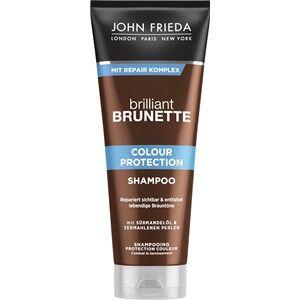 John Frieda Hair care Brilliant Brunette Colour Protection Shampoo 250 ml