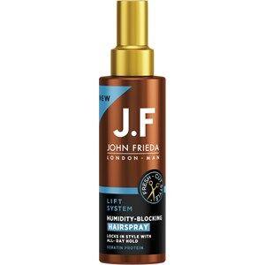 John Frieda Hair care Man Lift System Humidity-Blocking Hairspray 150 ml