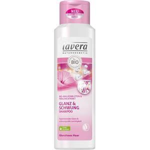 Lavera Hiustenhoito Shampoo Bio-malva & helmiäisuute Kiiltoa lisäävä & suojaava shampoo 250 ml
