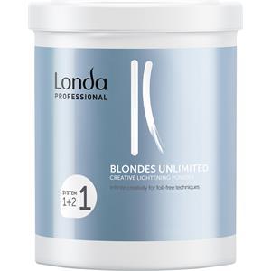Londa Professional Hiusvärit ja -sävyt Blondes Unlimited Creative Lightening Powder 400 g