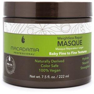 Macadamia Hiustenhoito Wash & Care Weightless Moisture Masque 222 ml