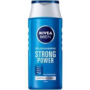 Nivea Miesten hoitotuotteet Hiustenhoito  Men Strong Power hoitava shampoo 250 ml