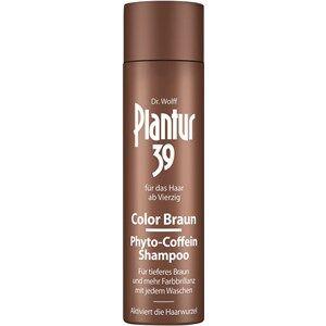 Plantur Hiustenhoito  39 Color Braun Phyto-Coffein Shampoo 250 ml