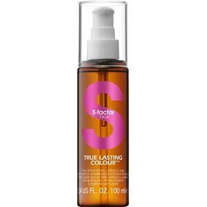 Tigi S-Factor Styling & Finish True Lasting Colour Hair Oil 100 ml