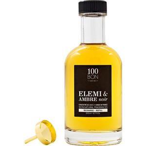 100BON Unisexdüfte Elemi & Ambre Noir Eau de Parfum Spray Refill 200 ml