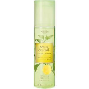 4711 Acqua Colonia Unisex-tuoksut Lemon & Ginger Vartalosuihke 75 ml