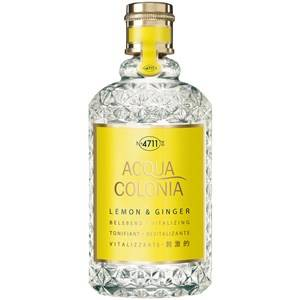 4711 Acqua Colonia Unisex-tuoksut Lemon & Ginger Eau de Cologne Splash & Spray 170 ml