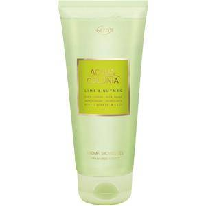 4711 Acqua Colonia Unisex-tuoksut Lime & Nutmeg Bath & Shower Gel 200 ml